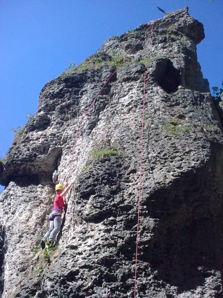 Kletterkurs Fränkische Schweiz