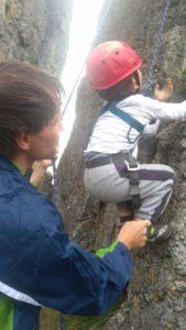 Kletterspaß für Kinder