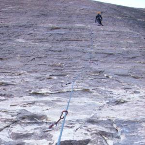 Stockbild Klettern in Red Rocks Las Vegas USA