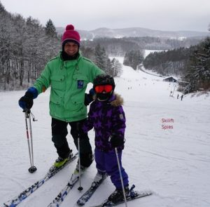 Skikurs Kinder Spies Oberfranken Nordbayern