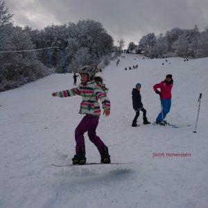 Snowboardkurs Freestyle Hohenstein