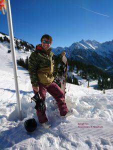 privat Unterricht Snowboard Garmisch