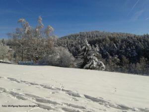 Winterwanderung Fichtelgebirge