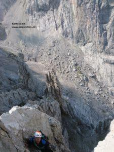 Alpinklettern mit Bergführer