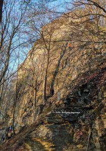 Klettern am Glatzenstein Mittelfranken